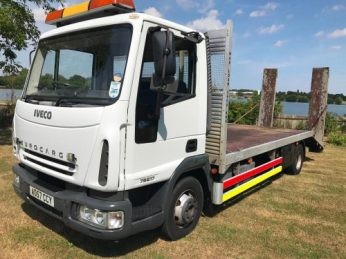 Beavertail HGV for plant transport