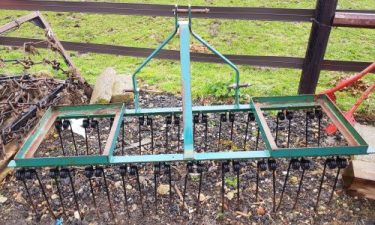 Spring Tine Harrow for Compact Tractor