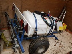 225 litre / 4m towed herbicide sprayer