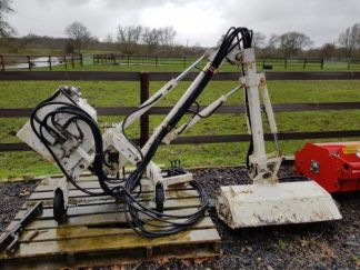 Twose Compact Tractor Hedge / Grass Side arm Flail